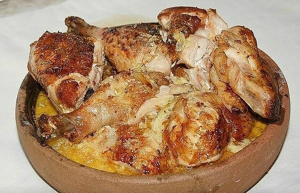 Чкмерули - грузинский рецепт очень вкусной курочки